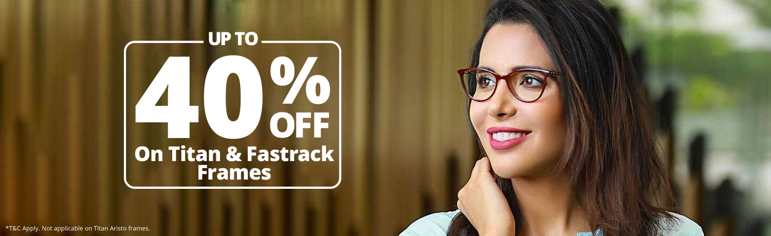 Upto 40% Off On Frames