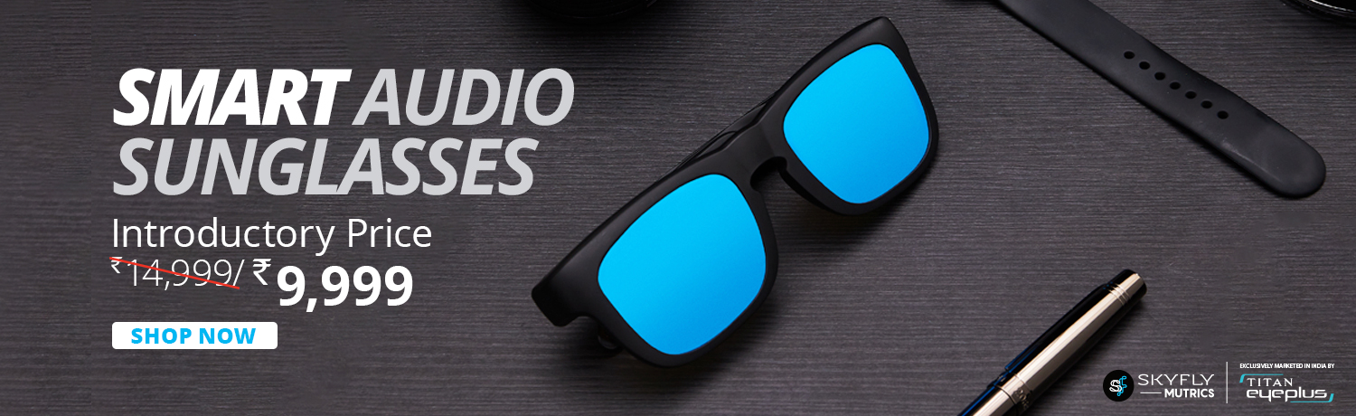 Stylish Smart Sunglasses With Bluetooth