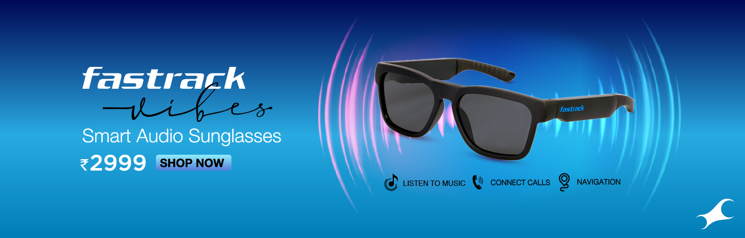 Smart Audio and HD Video Sunglasses from Fastrack