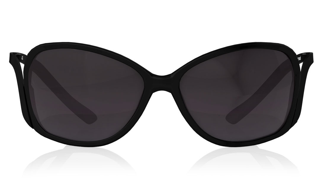 Black Bugeye Fastrack Women Sunglasses