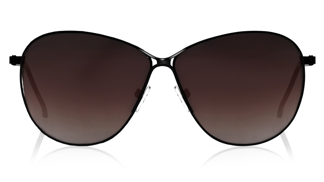 Black Pilot Fastrack Women Sunglasses