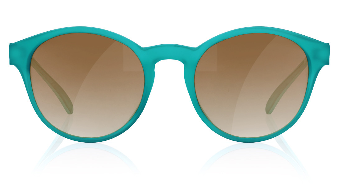 Green Round Fastrack Women Sunglasses