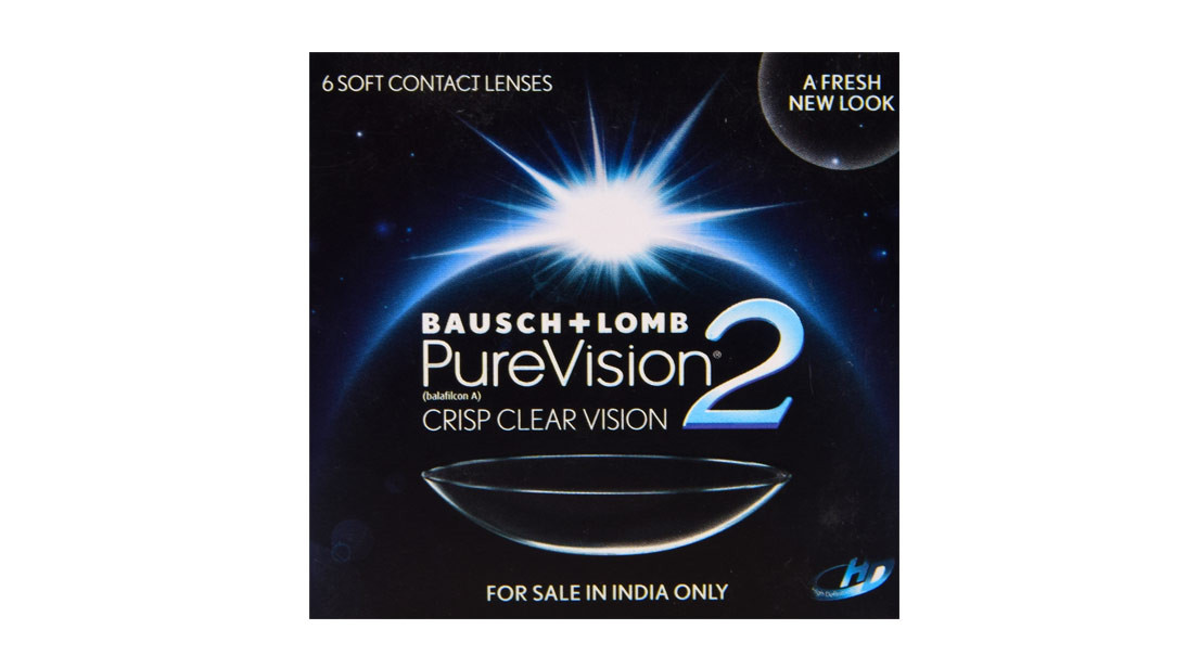 Monthly Disposable Baush & Lomb Pure vision 2 Contact Lens