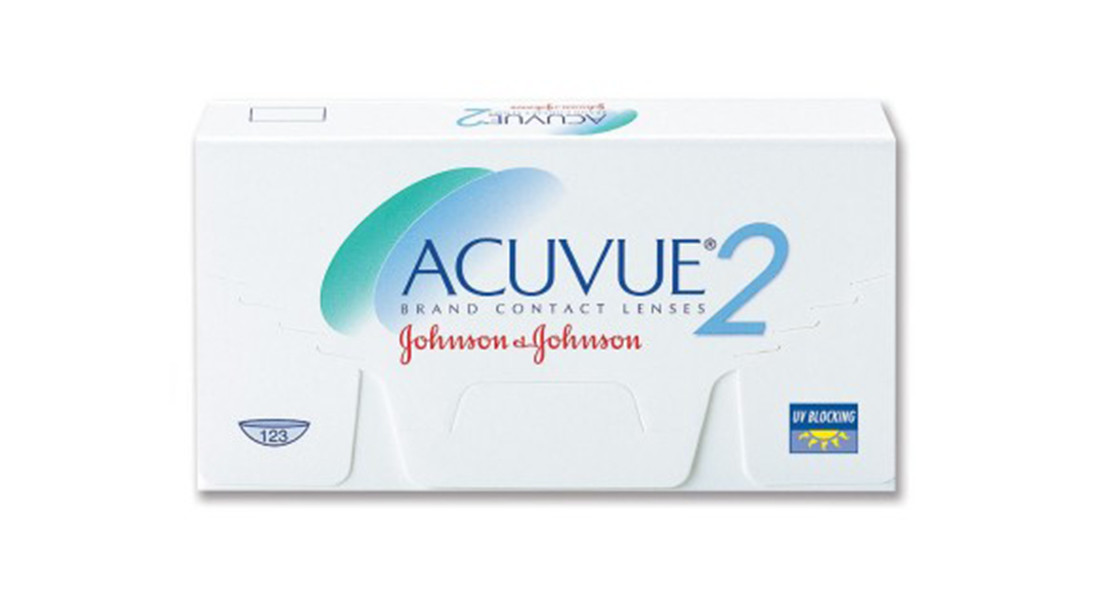 Bi-Monthly Disposable Johnson & Johnson Acuvue 2 Contact Lens