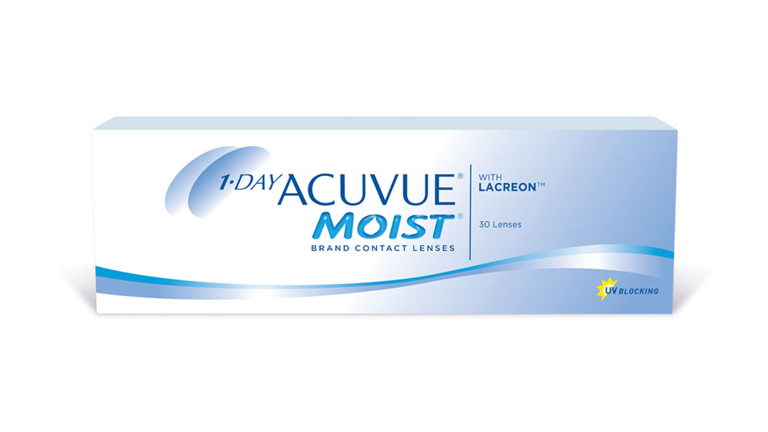 Daily Disposable Johnson & Johnson  1 Day Acuvue Moist-30 Contact Lens