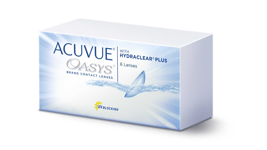 Fortnightly Disposable J&J Acuvue Oasys Contact Lens