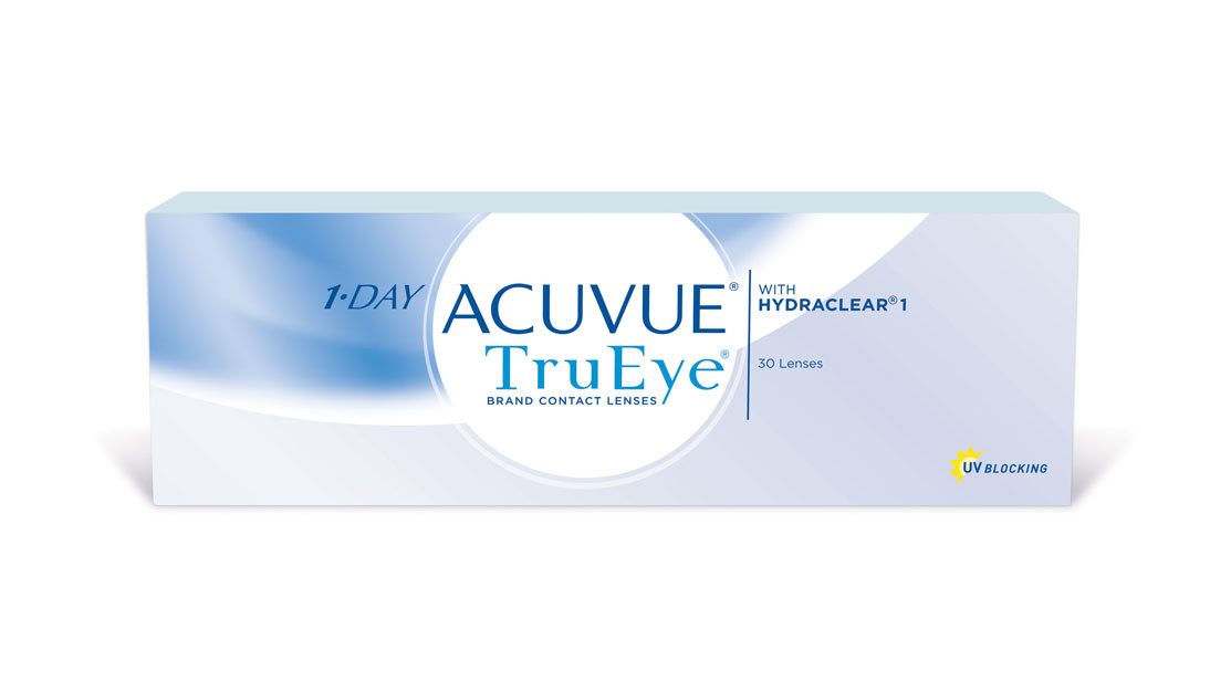 Daily Disposable Johnson & Johnson 1 Day Acuvue Tru Eye Contact Lens