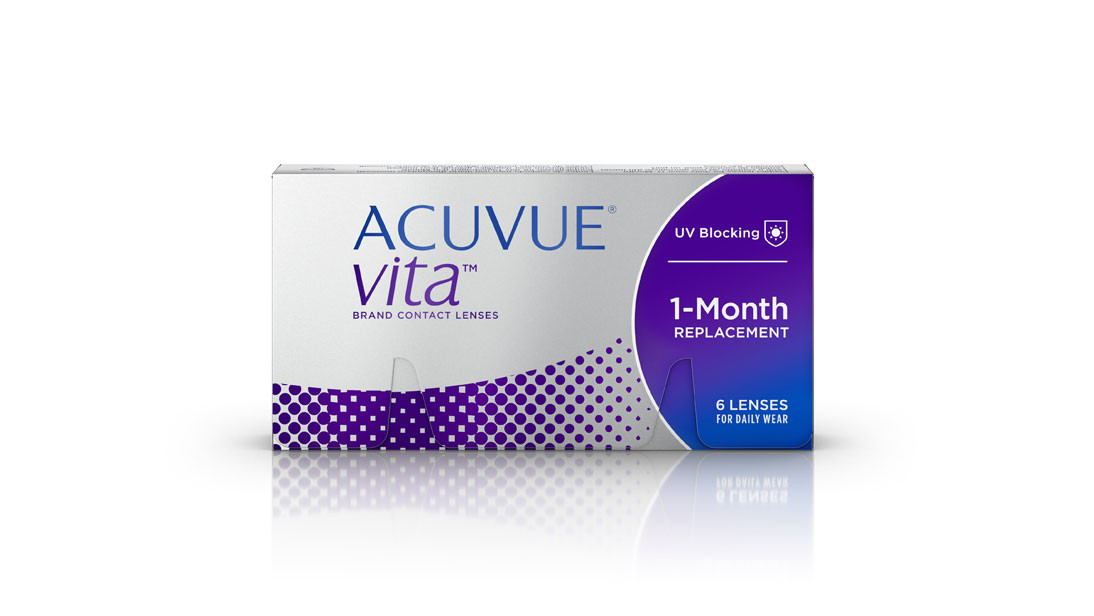 Monthly Disposable Johnson & Johnson VA Pck 6 Acuvue Vita Contact Lens