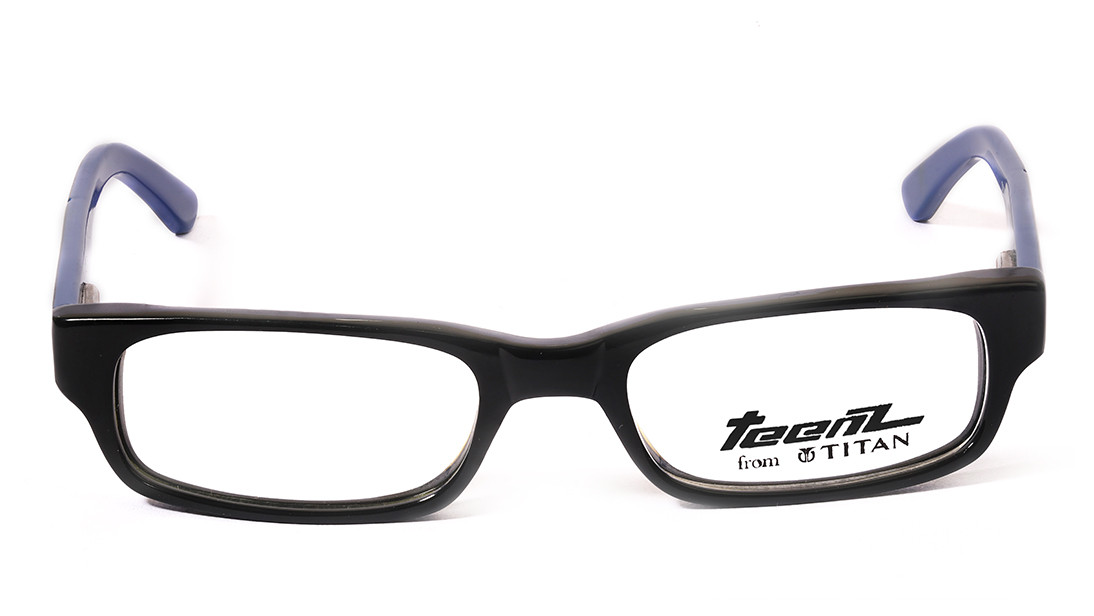 Black Rectangle Rimmed Eyeglasses from Dash