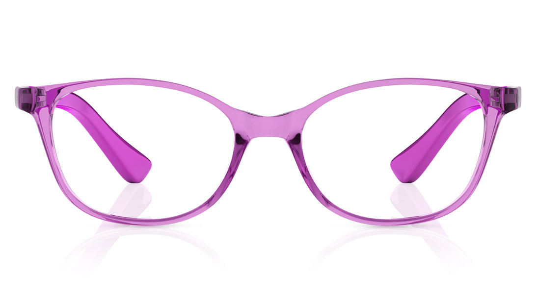 Pink CatEye Rimmed Eyeglasses from Dash