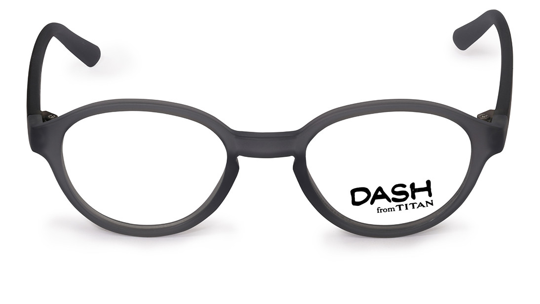 Grey Round Rimmed Eyeglasses from Dash