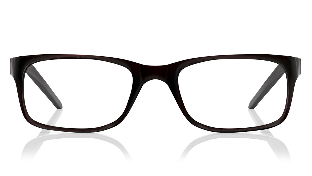 Brown Square Rimmed Eyeglasses from Titan