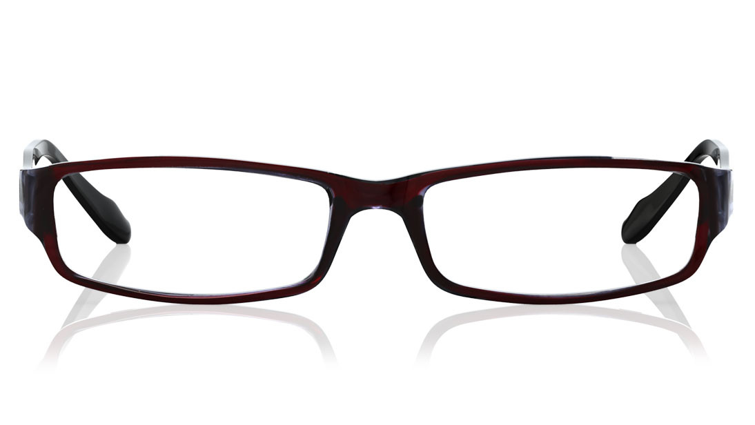 5bf5a69c3e21 Titan Brown, Black Rimmed Rectangle Eyeglasses Frames For Women
