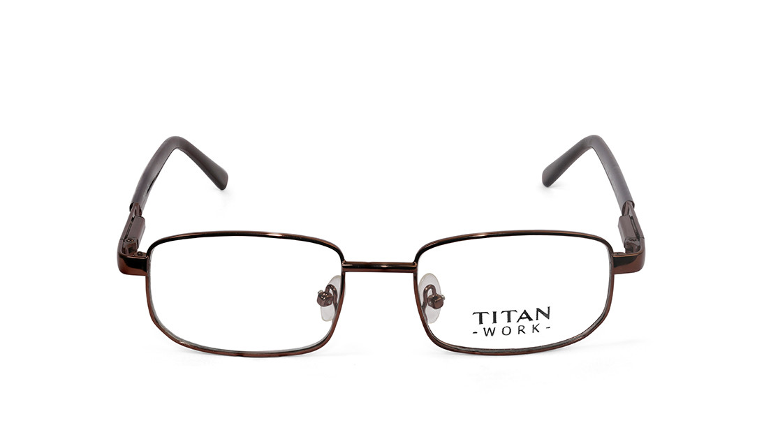 Copper Navigator Rimmed Eyeglasses from Titan