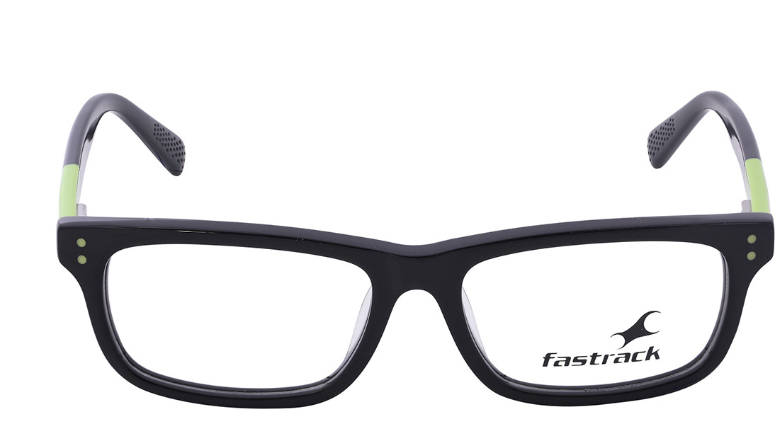 Black Rectangle Rimmed Eyeglasses from Fastrack