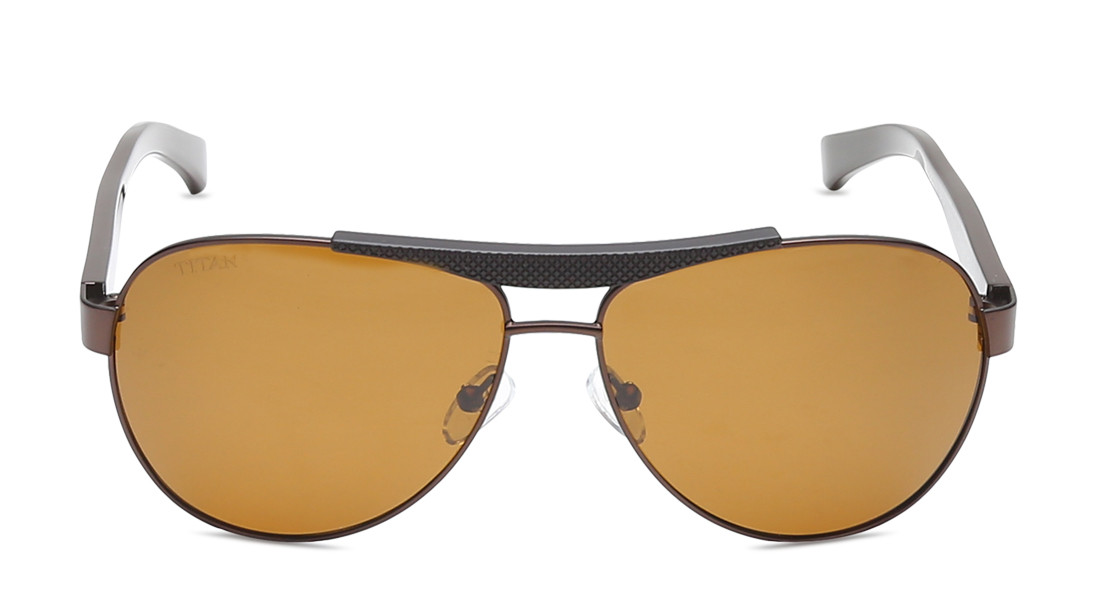 Copper Pilot Titan Men Sunglasses