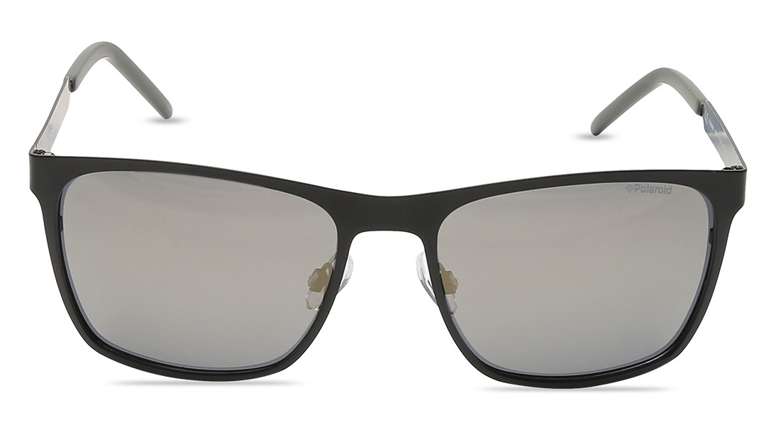 Black Square Polaroid Unisex Sunglasses