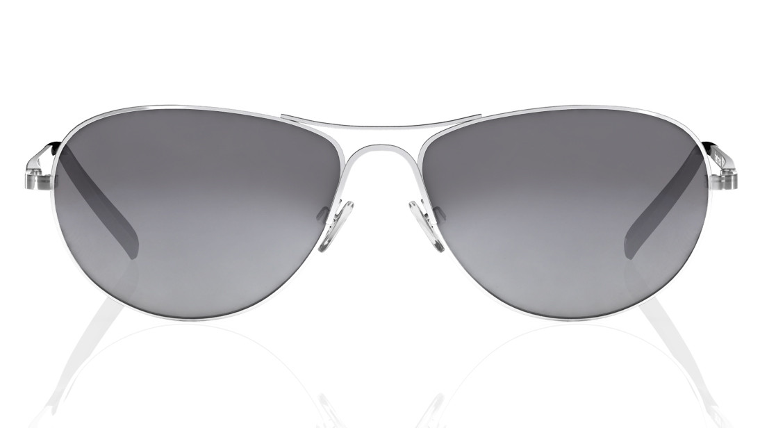 Silver Pilot Fastrack Men Sunglasses