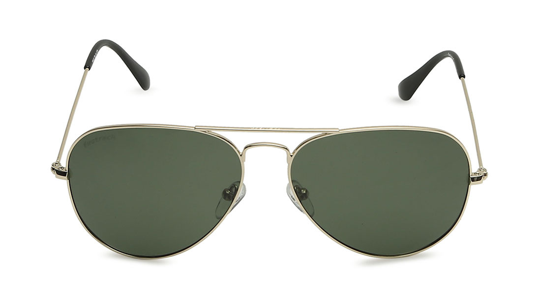 Gold Pilot Fastrack Men Sunglasses