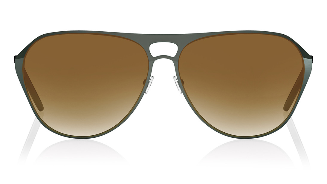 Grey Pilot Fastrack Men Sunglasses