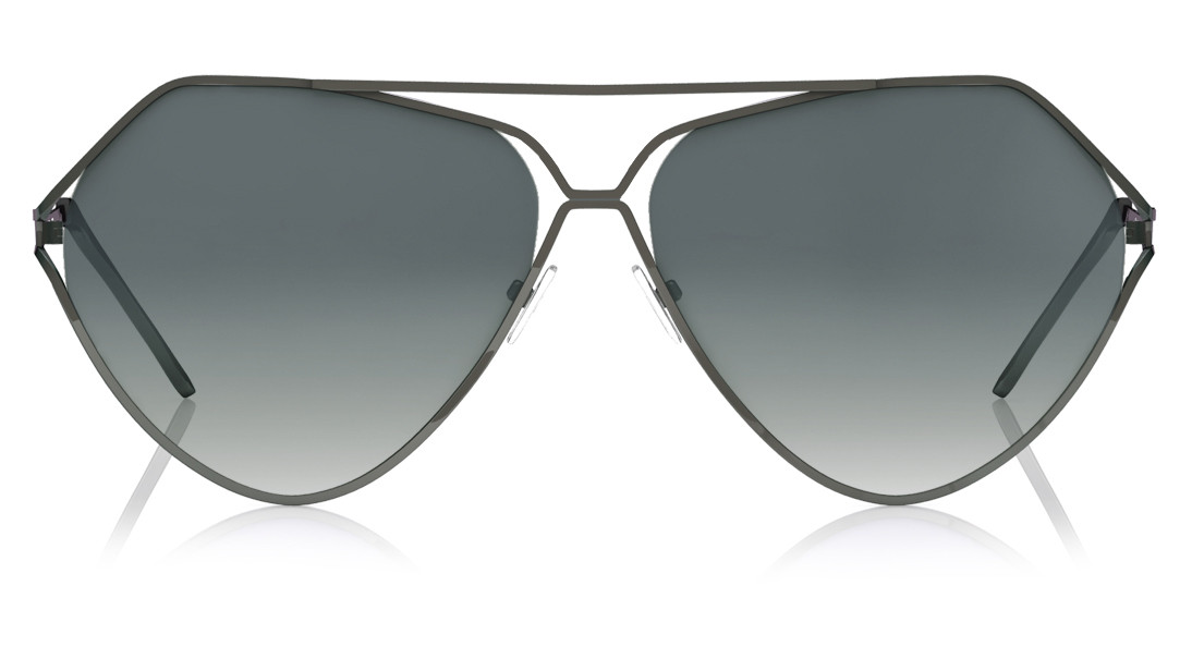 Grey Pilot Fastrack Women Sunglasses
