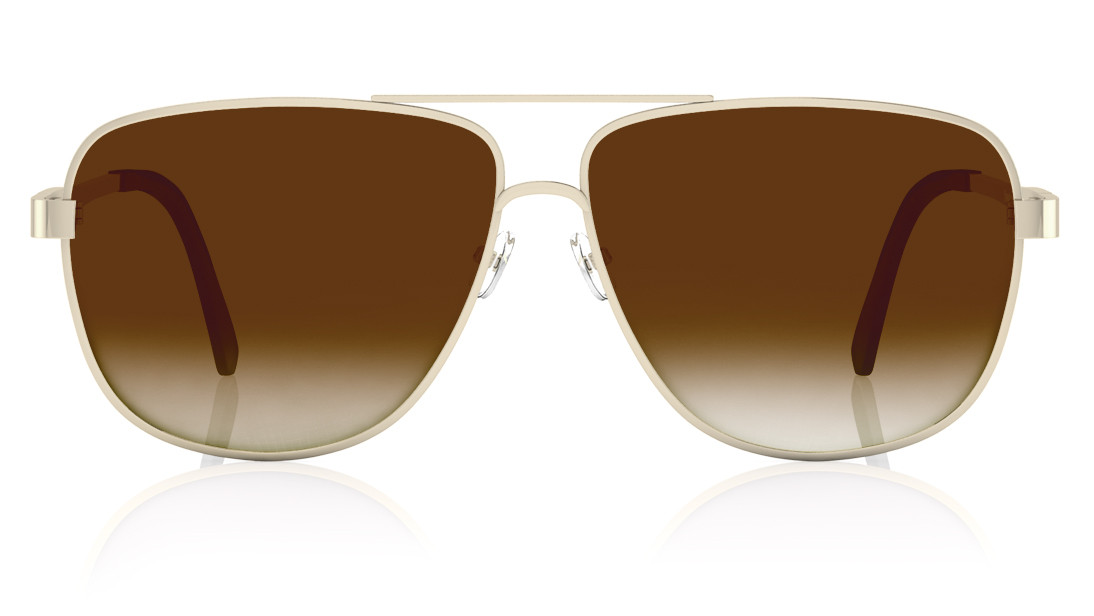 Silver Square Fastrack Men Sunglasses
