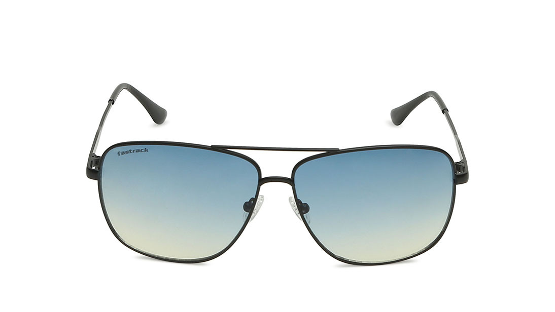Grey Square Fastrack Men Sunglasses
