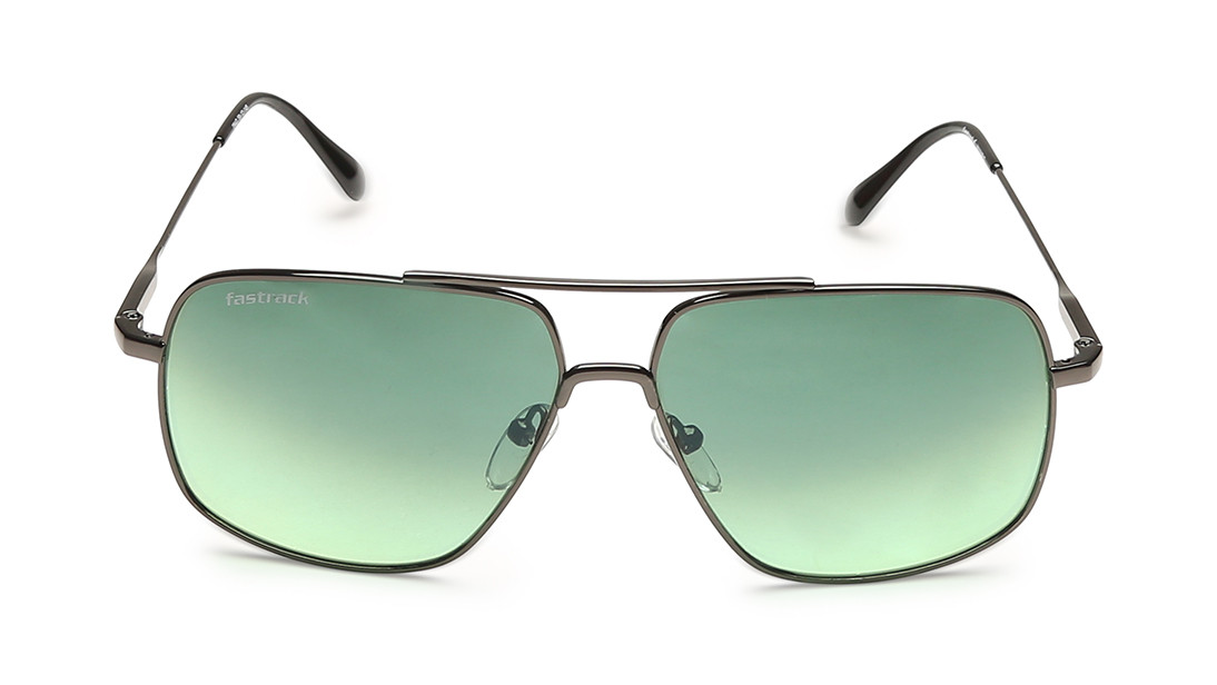 Gun metal Square Fastrack Men Sunglasses