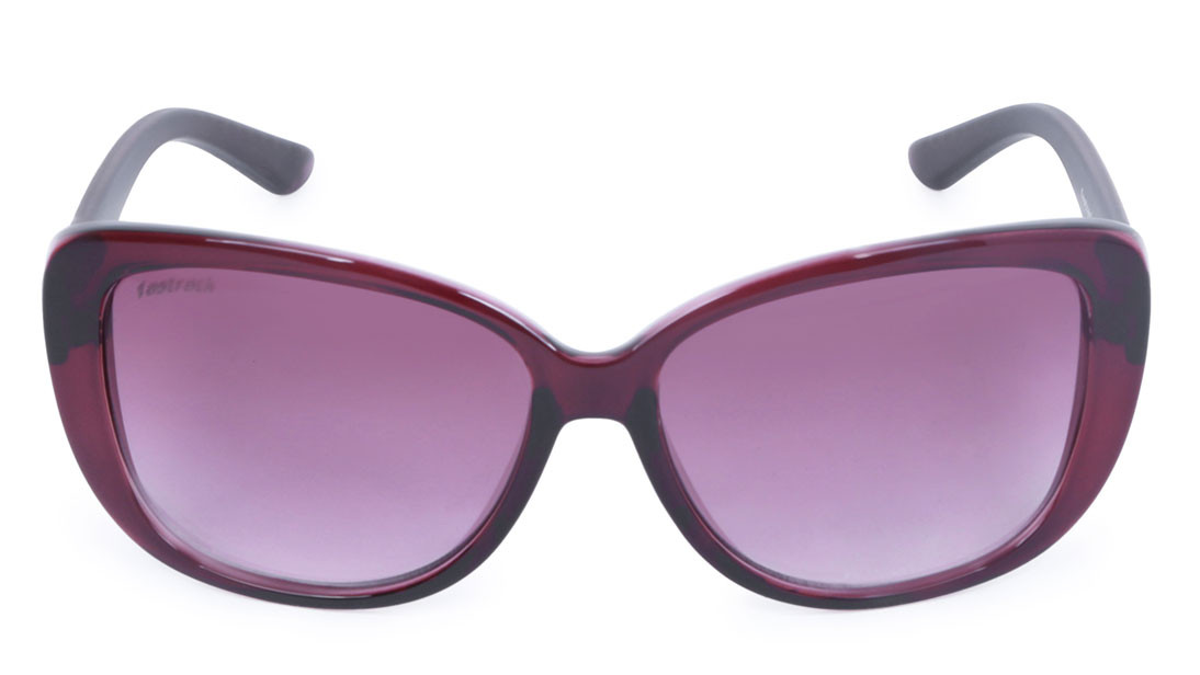 Purple Bugeye Fastrack Women Sunglasses