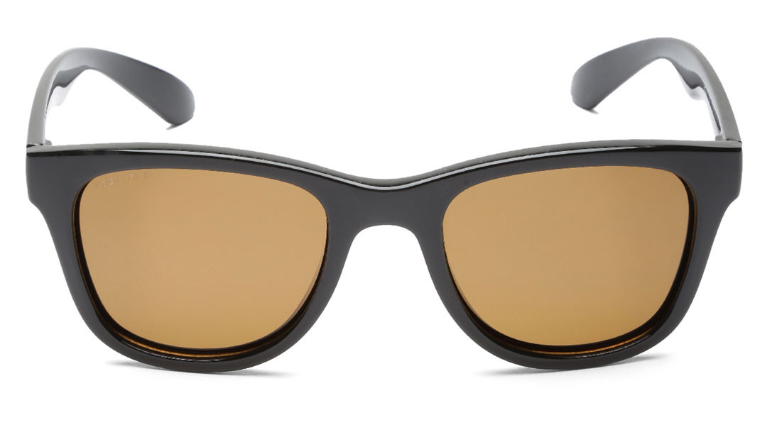 Gold Square Fastrack Men Sunglasses