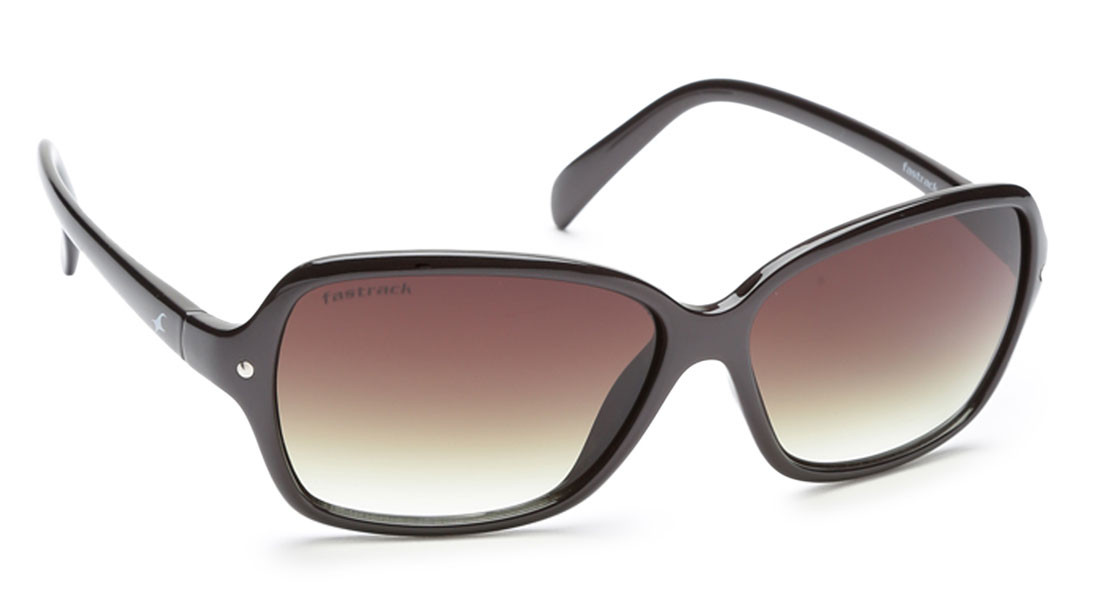 Brown Bugeye Fastrack Women Sunglasses