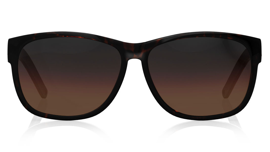 Brown Square Fastrack Men Sunglasses