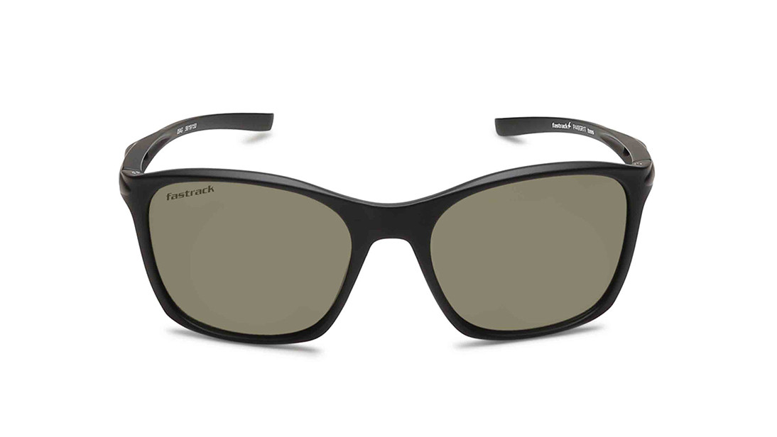 Black Square Fastrack Men Sunglasses