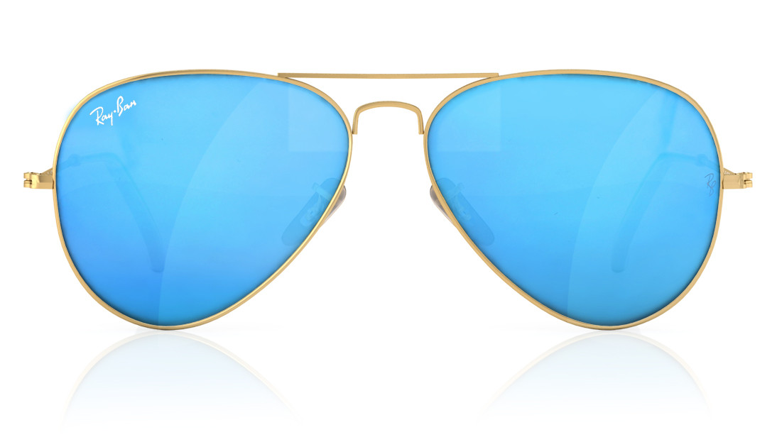 1994723bcdf1 Ray-ban Gold Rimmed Aviator Sunglasses For Men And Women