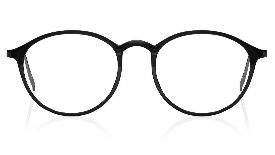 Black Round Rimmed Eyeglasses from Titan
