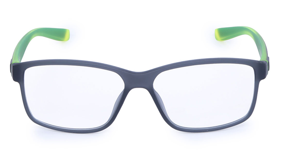 Black Square Rimmed Eyeglasses from Titan