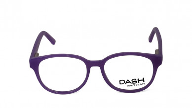 Purple Oval Rimmed  Eyeglasses from Dash