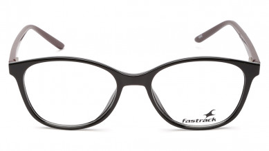 Black Panto Rimmed  Eyeglasses from Titan