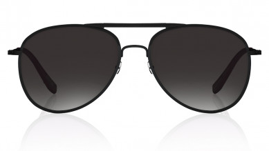 Black  Oval  Fastrack Unisex Sunglasses