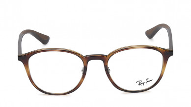 Brown Round Rimmed  Eyeglasses from Rayban
