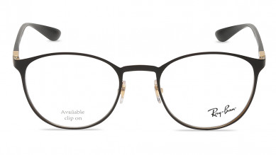 Black Round Rimmed  Eyeglasses from Rayban