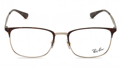 Black Clubmaster Rimmed  Eyeglasses from Rayban