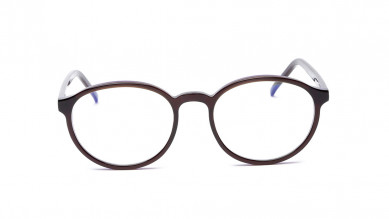 Brown Round Rimmed  Eyeglasses from Titan