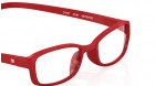 Red Rectangle Rimmed Eyeglasses from Dash-3