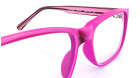 Purple Square Rimmed Eyeglasses from Dash-3