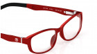 Red Rectangle Rimmed Eyeglasses from Dash-4