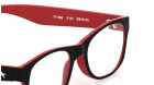 Black Oval Rimmed Eyeglasses from Fastrack-3