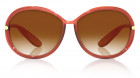 Brown Round Fastrack Women Sunglasses -0