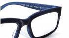 Blue Rectangle Rimmed Eyeglasses from Titan-3