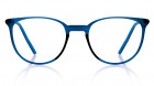 Blue Round Rimmed Eyeglasses from Titan-0